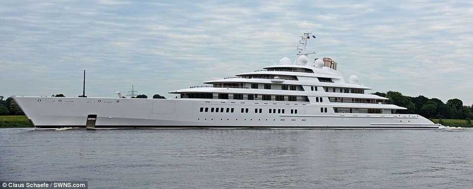 World S Largest Private Yacht Takes To The Sea Conservative News Amp Right Wing News Gun Laws