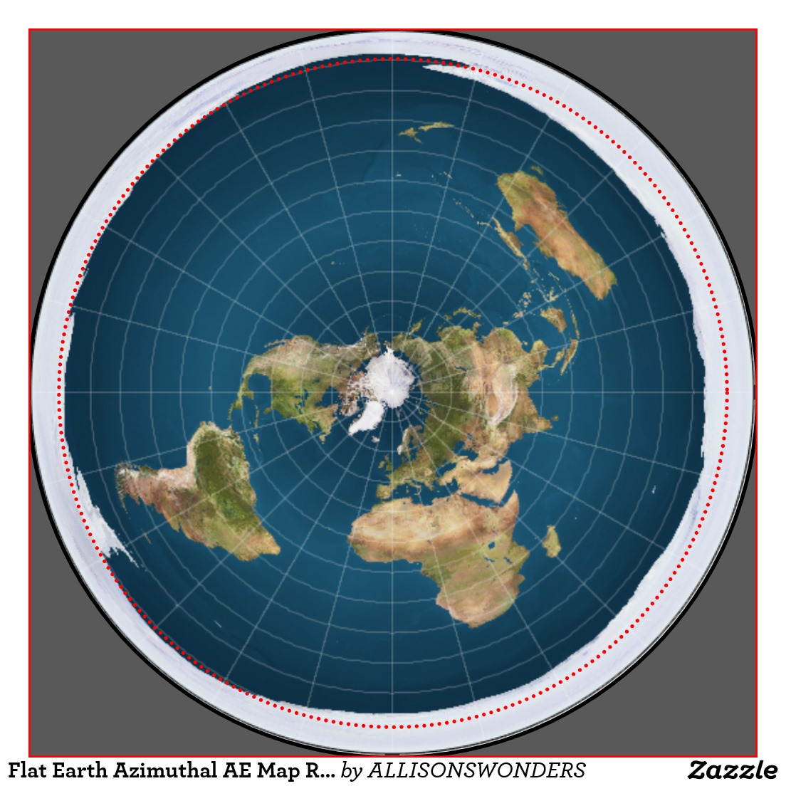 flat map of earth - photo #9