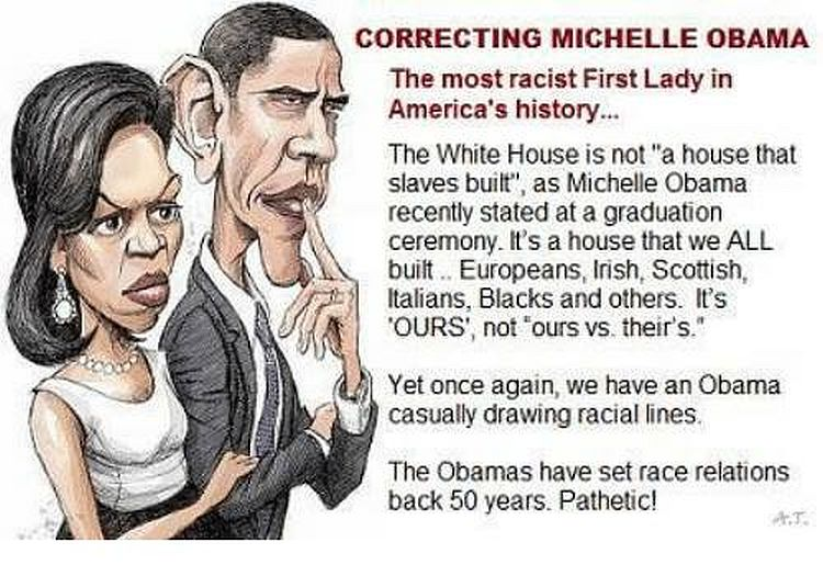 Michelle Obama Claims The White House Was U0027Built By Slavesu0027u2026 But Thereu0027s  One HUGE Problem