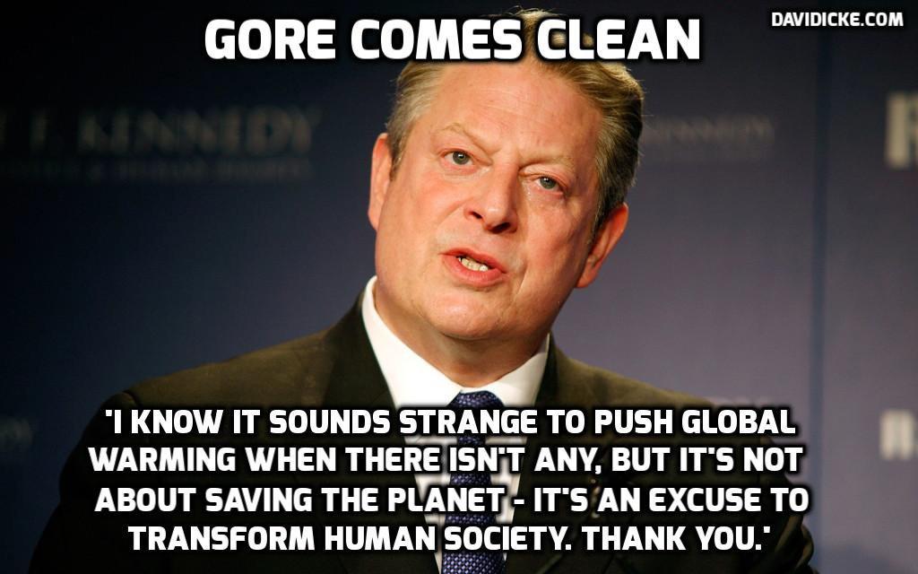Inconvenient reality: Al Gore's global climate apocalypse ...