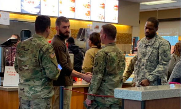 North Carolina Man Pays for 11 Soldiers Bill at Chick-Fil-A